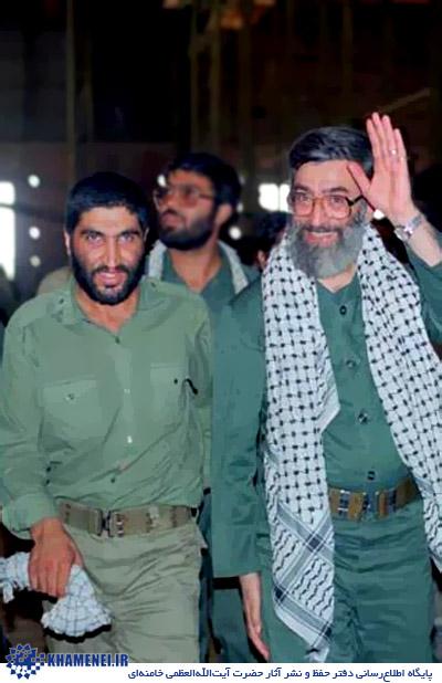 شهید کاظمی با آقا