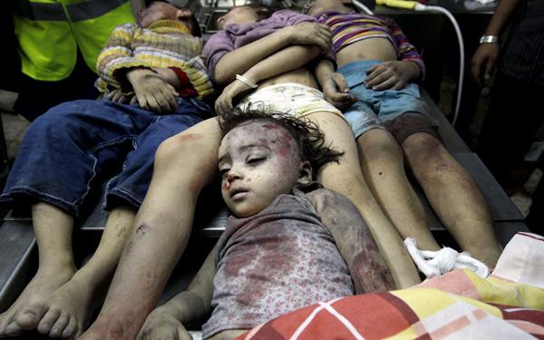 کودکان بیگناه غزه